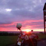 【2017年・夏の北海道】最高の夕陽を見た、小平町望洋台キャンプ場!Vol.3