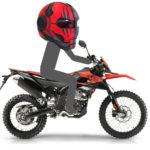 【Aprilia】RX125に似合うヘルメットを探して、加工して遊んでみた