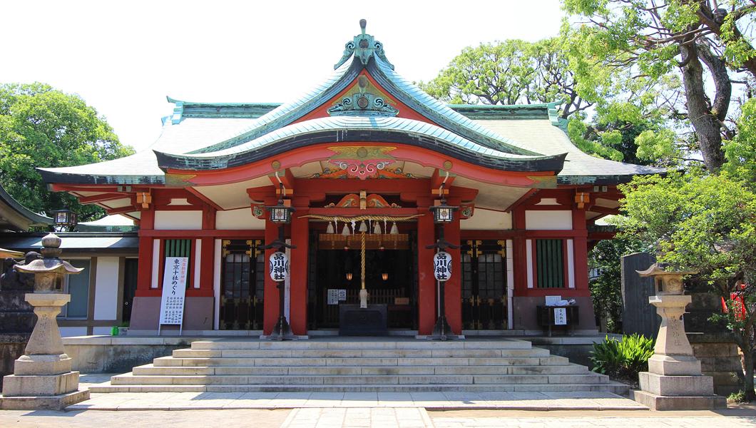 【東京十社めぐり】品川神社