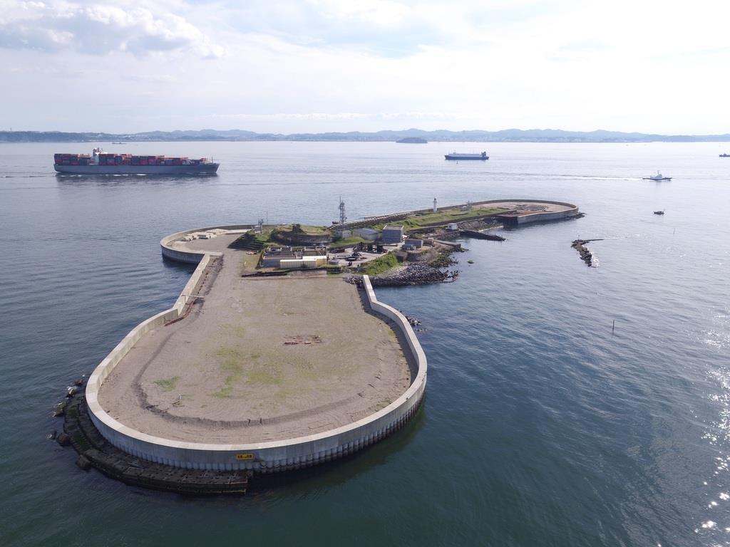 東京湾内の要塞をめぐる「第二海堡上陸ツアー」に行く