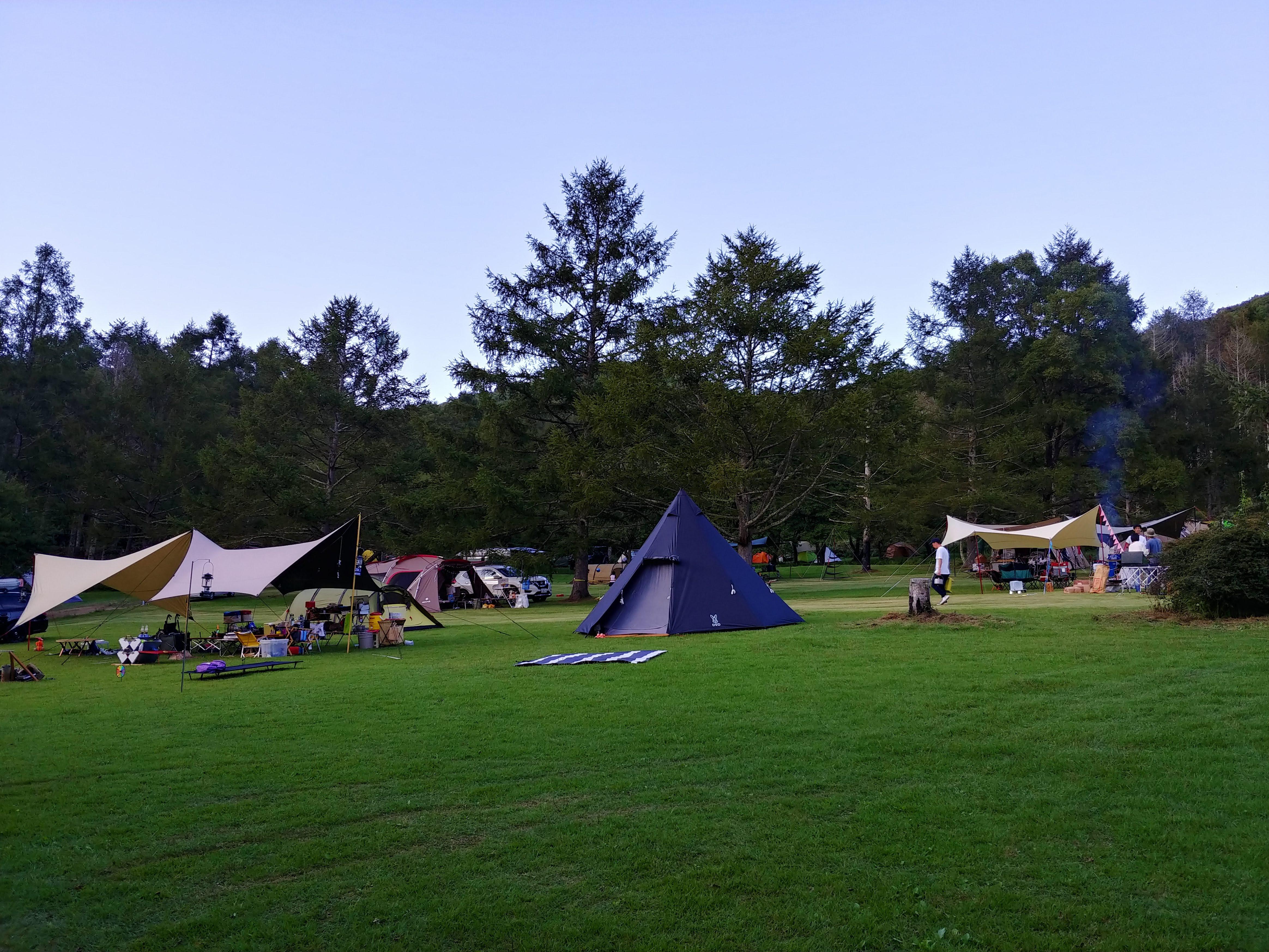 牧場 後 場 光 オート キャンプ
