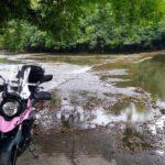 大戸の洗い越し、濃溝の滝を巡るプッ千葉ツーリング